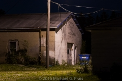 Night Study: Garage and Building 1/8