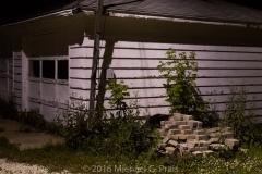 Night Study: Garage and Building 3/8