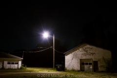Night Study: Garage and Building 5/8