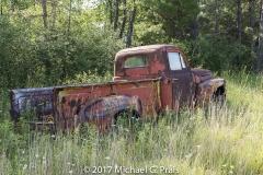 Back of Old Pickup