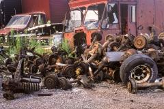 Axels and Brakes: Junk Yard
