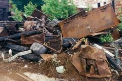 Safe Door: Machine Shop Arson