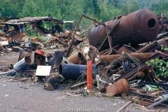 Shed and Boiler: Junk Yard