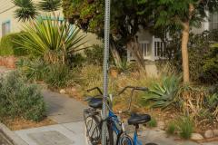 michael_prais_Ocean_Beach_-_Bike_on_Post