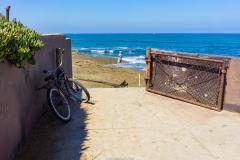 michael_prais_Ocean_Beach_-_Bike_and_Gate