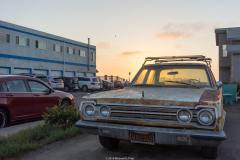 michael_prais_Ocean_Beach_-_Old_Car_at_Sunset