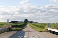 Bridge Road Farmhouse Clouds