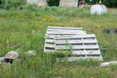 Pallets in Field