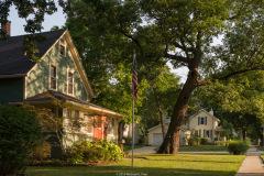michael_prais_Houses_-_Green_with_Orange_Door