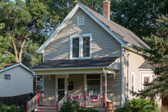 michael_prais_Houses_-_Porch_with_Bunting