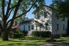 michael_prais_Houses_-_White_Farmhouse_with_Tree